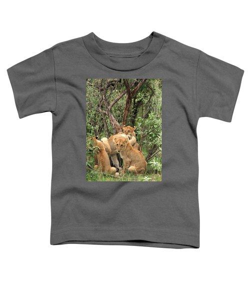 Masai Mara Lion Cubs Toddler T-Shirt