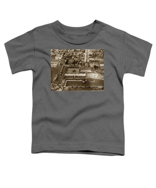 Neptune Beach Olympic Size Swimming Pool And A Roller Coaster Alameda Circa 1920 Toddler T-Shirt