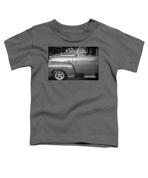 1955 Chevrolet First Series Bw Toddler T-Shirt
