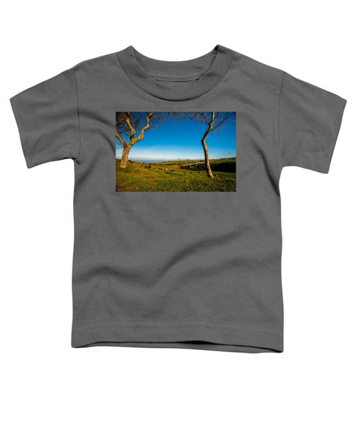 Between Two Trees Toddler T-Shirt