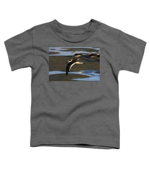 Black Skimmer Beach Toddler T-Shirt