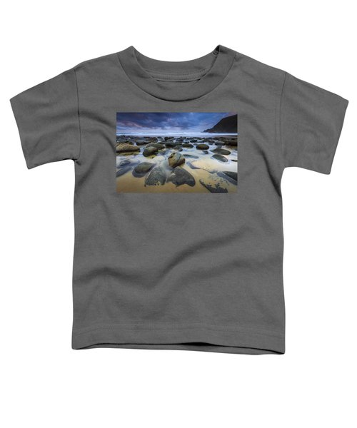 Campelo Beach Galicia Spain Toddler T-Shirt