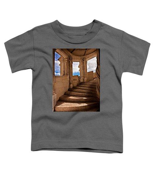 Chateau De Blois Staircase / Loire Valley Toddler T-Shirt