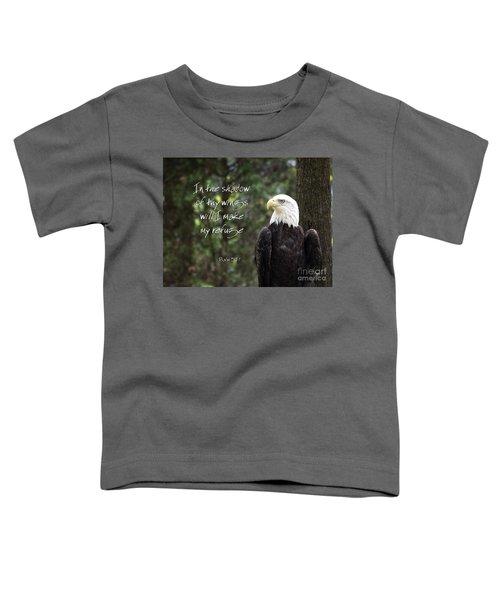 Eagle Scripture Toddler T-Shirt