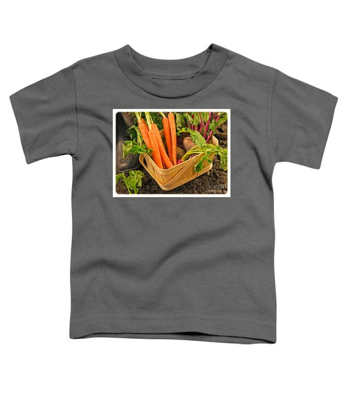 Fresh Garden Vegetables Toddler T-Shirt