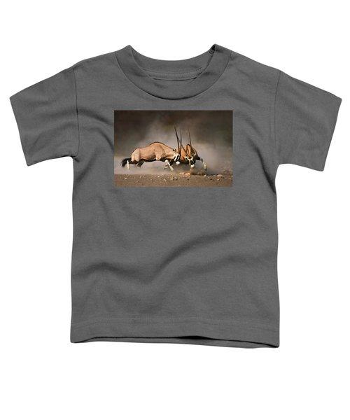 Gemsbok Fight Toddler T-Shirt
