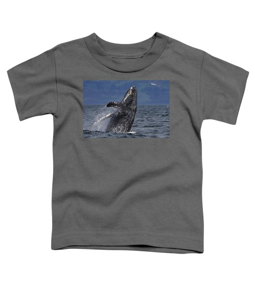 Humpback Whale Breaching Prince William Toddler T-Shirt