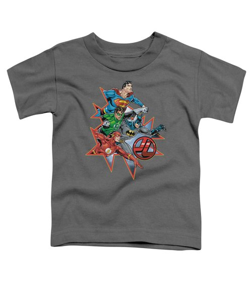 Jla - Starburst Toddler T-Shirt