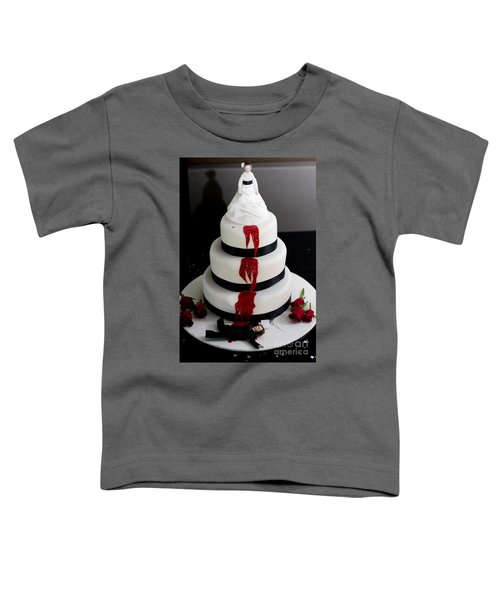 Killer Bride Wedding Cake Toddler T-Shirt