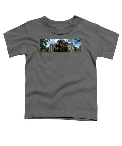 Low Angle View Of Statue Toddler T-Shirt