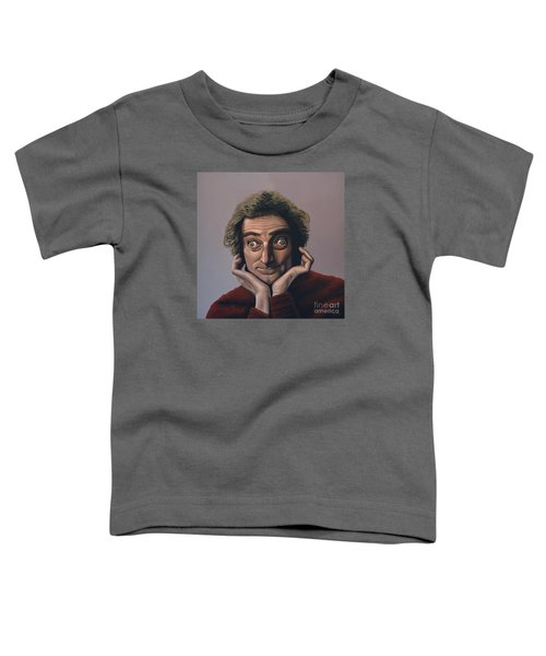 Marty Feldman Toddler T-Shirt by Paul Meijering