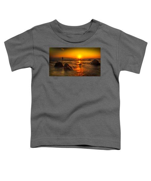 Montauk New York Summer Sunrise Toddler T-Shirt
