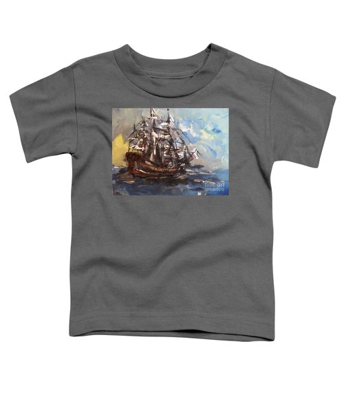 My Ship Toddler T-Shirt
