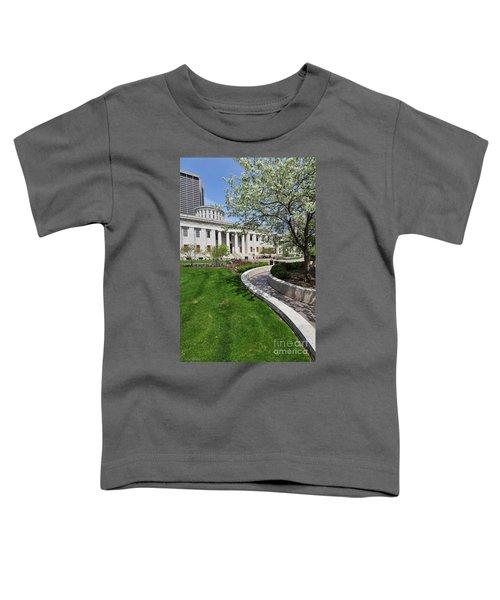 D13l-145 Ohio Statehouse Photo Toddler T-Shirt