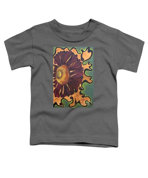 Old Fashion Flower Toddler T-Shirt