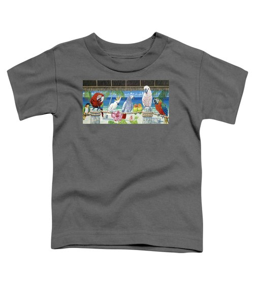 Parrots In Paradise Toddler T-Shirt