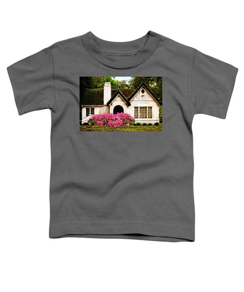 Pink Azaleas - Old Southern Charm By Sharon Cummings Toddler T-Shirt