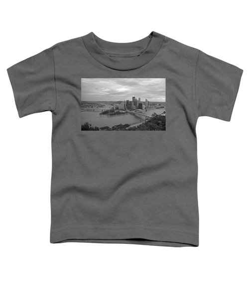 Pittsburgh - View Of The Three Rivers Toddler T-Shirt