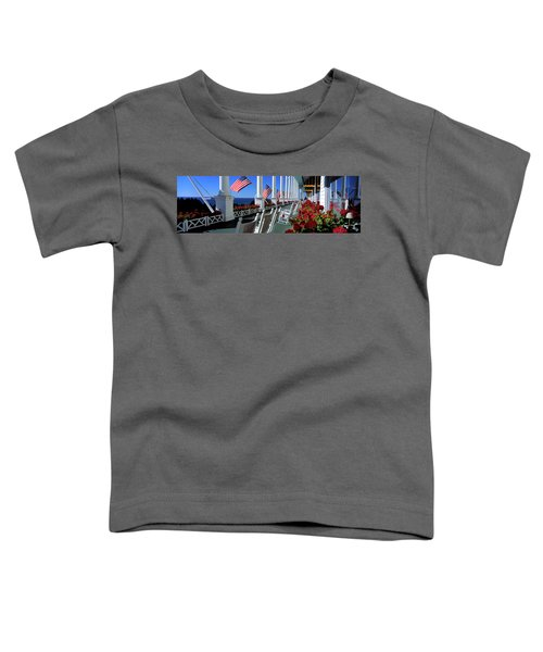 Porch Of The Grand Hotel, Mackinac Toddler T-Shirt