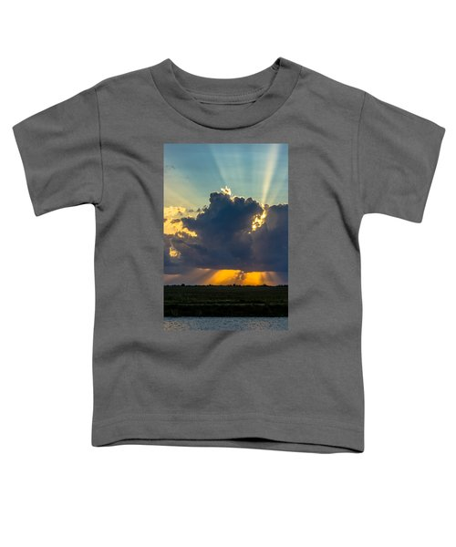 Rays From The Clouds Toddler T-Shirt