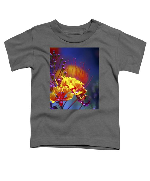 Red Yellow Blossoms 10197 Toddler T-Shirt
