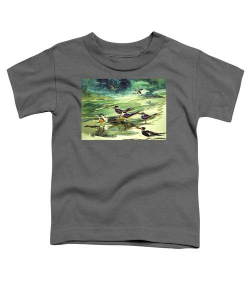 Royal Terns And Black Skimmers Toddler T-Shirt