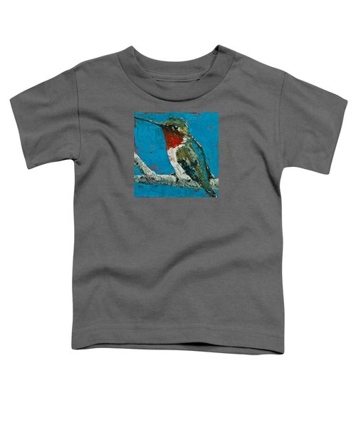 Ruby-throated Hummingbird Toddler T-Shirt