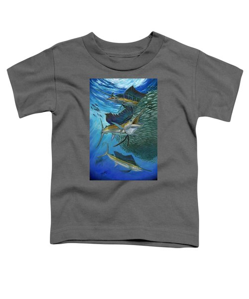 Sailfish With A Ball Of Bait Toddler T-Shirt