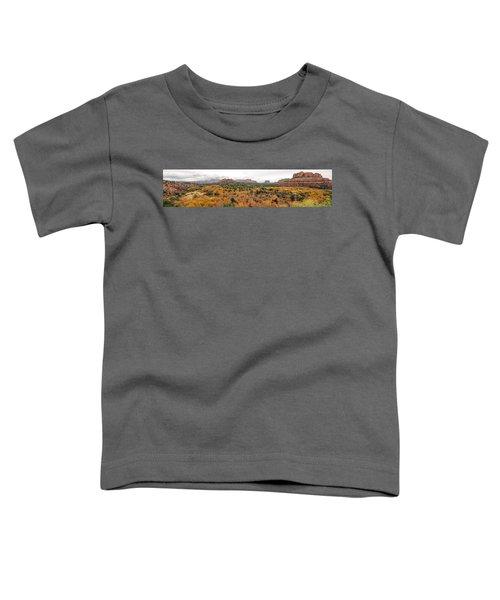 Sedona Panorama Toddler T-Shirt