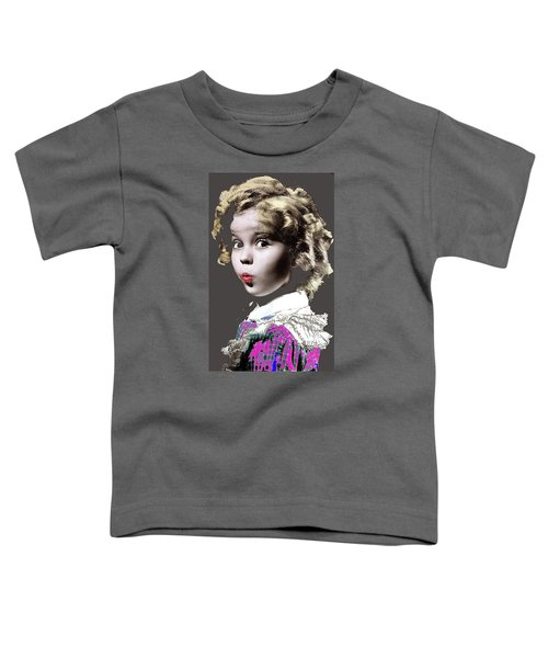 Shirley Temple Publicity Photo Circa 1935-2014 Toddler T-Shirt