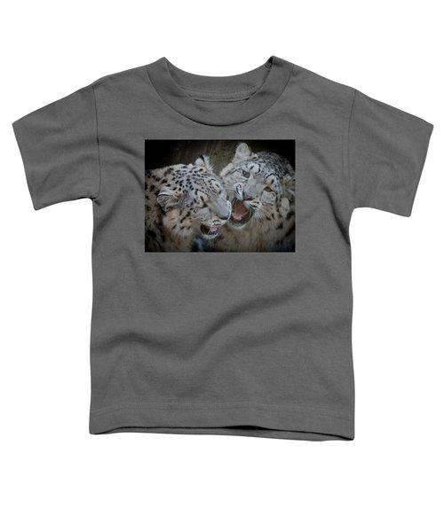 Snow Leopard Cubs Toddler T-Shirt
