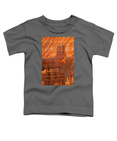 Sunrise At Sunset Point Bryce Canyon National Park Toddler T-Shirt