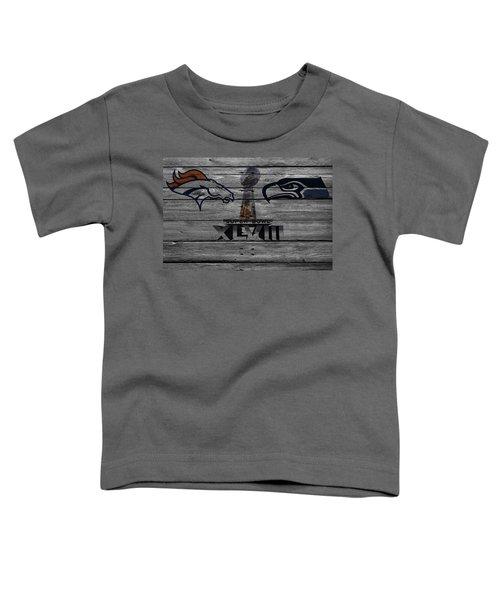 Super Bowl Xlviii Toddler T-Shirt