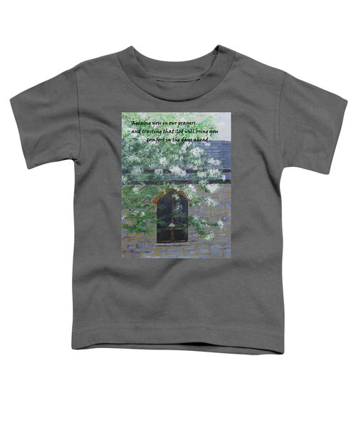 Sympathy Card With Church Toddler T-Shirt