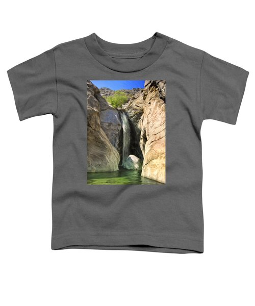 Tahquitz Falls Toddler T-Shirt