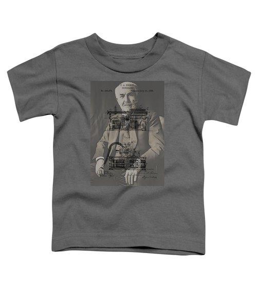 Thomas Edison's Phonograph Toddler T-Shirt