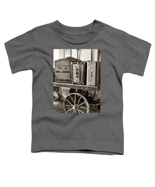 Train Station Luggage Cart Toddler T-Shirt