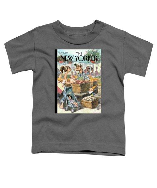 New Yorker May 30th, 2011 Toddler T-Shirt