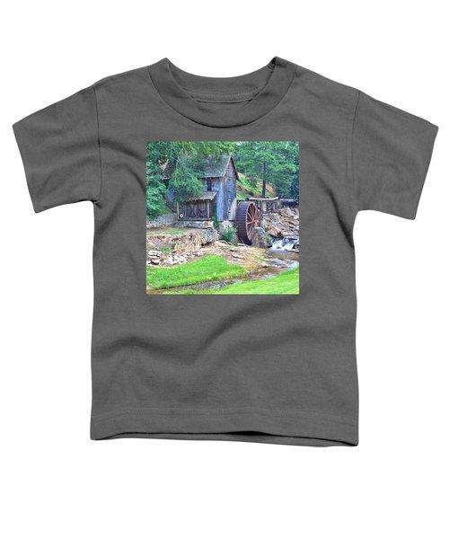 Sixes Mill On Dukes Creek - Square Toddler T-Shirt