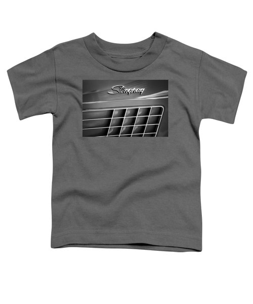1972 Chevrolet Corvette Stingray Emblem Toddler T-Shirt