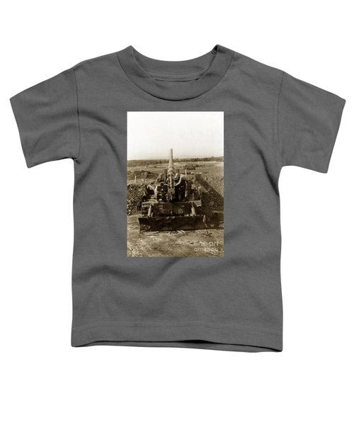 175mm Self Propelled Gun C 10 7-15th Field Artillery Vietnam 1968 Toddler T-Shirt
