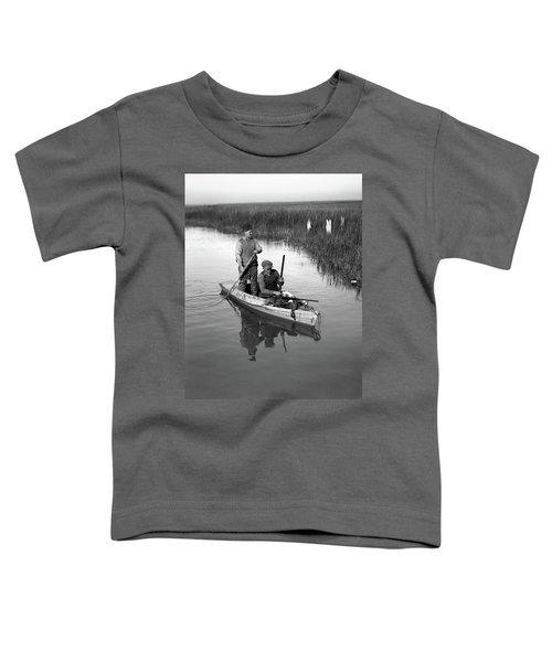 1920s Two Men Duck Hunters Toddler T-Shirt
