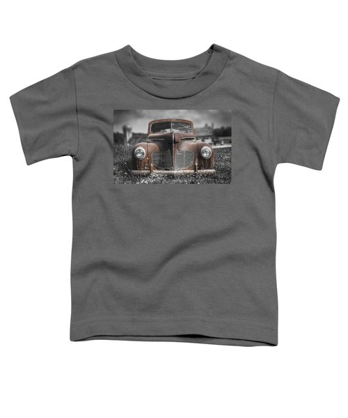 1940 Desoto Deluxe With Spot Color Toddler T-Shirt