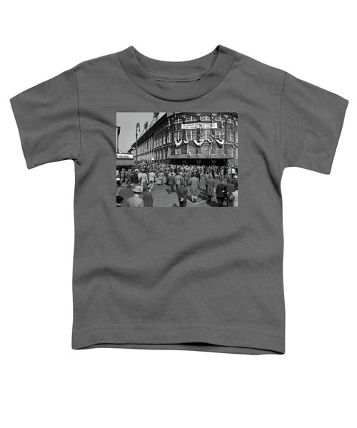 1940s October 1947 Dodger Baseball Fans Toddler T-Shirt