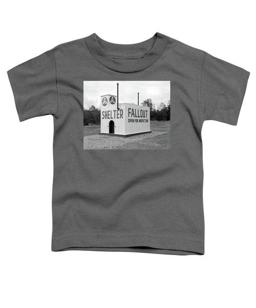 1950s Civil Defense Fallout Shelter Toddler T-Shirt