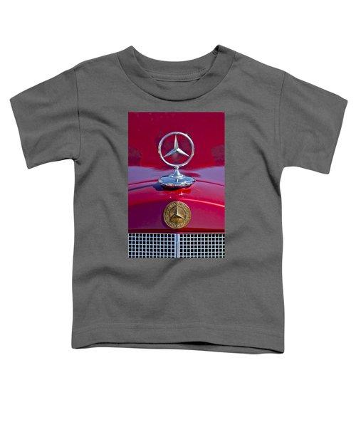 1953 Mercedes Benz Hood Ornament Toddler T-Shirt