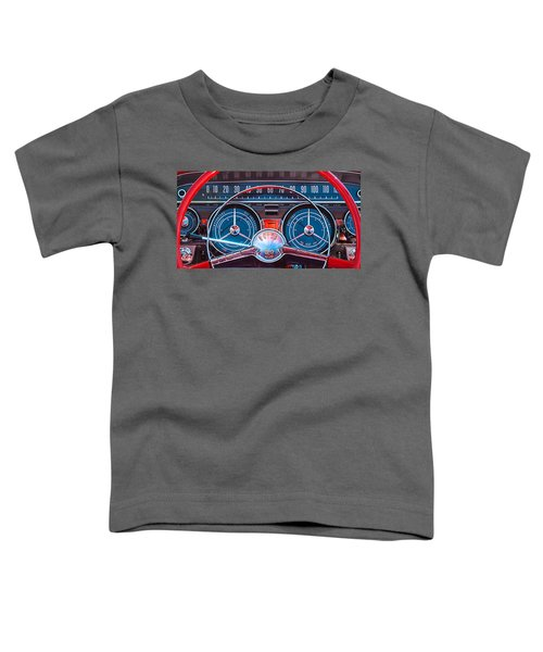 1959 Buick Lesabre Steering Wheel Toddler T-Shirt