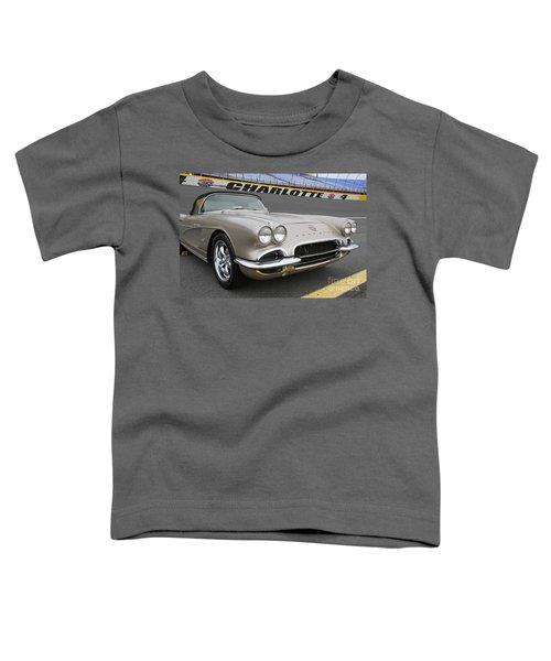 1962 Chevy Corvette Toddler T-Shirt