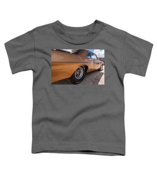 1963 Pontiac Lemans Race Car Toddler T-Shirt