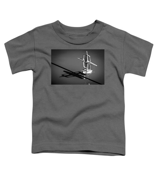 1967 Lincoln Continental Hood Ornament -1204bw Toddler T-Shirt